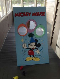 Brantley's Mickey Mouse Clubhouse | CatchMyParty.com