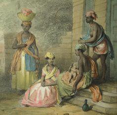Slavinnen (Voyage a Surinam; Benoit, 1839)
