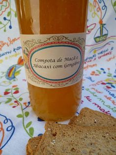 Terapia dos Tachos: Compota de maçã e abacaxi com gengibre
