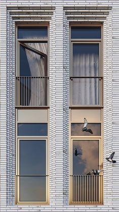 New Ideas House Facade Design Classic Brick Architecture, Concept Architecture, Residential Architecture, Architecture Details, Brick Masonry, Brick Facade, Facade House, Brick Design, Facade Design