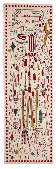 Hayon X Nani: Jaime Hayon Brings His Whimsical Style to nanimarquina - Design Milk
