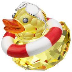 swarovski mini yellow duck