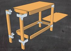 How to Build a Workbench or Shelving Unit for Your Garage or Shed ...