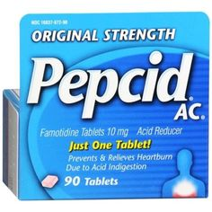 pack Of 2 Pepcid Complete Chewable Berry Flavor 25 Tabs