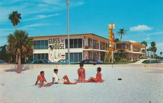 Glass House Apartment Motel - Clearwater Beach, Florida | Flickr - Photo Sharing!