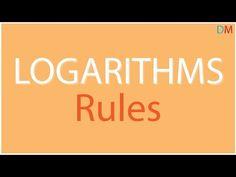 Logarithm rule.