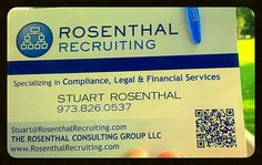 Season's Greetings and Best Wishes in 2015. ROSENTHAL RECRUITING now has a number of separate New York, Ohio based Compliance Officer and one Maryland (MD) Human Resource (HR) Director roles. In addition a Bank Audit job in NJ (on website) and CPA, Accounting Firm roles in NY and Long Island.  If you can review or perhaps 'flip' to anyone these can be sent with DETAILS of each ASAP. These are all open as of today. I am writing in an informal tone though I am sincere in willingness and…