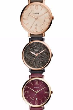 Fossil Watches, Gold Watch, Accessories, Shopping, Jewelry Accessories