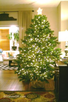 Tips for decorating a Christmas tree