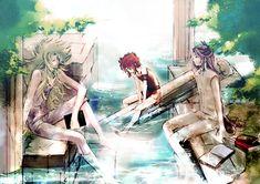Shion, Kiki & Mu