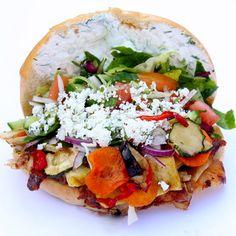 T&C, der beste Gemüse Kebab in Friedenau   creme berlin