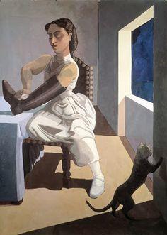Paula Rego, The Policeman's Daughter, 1987 Weimar: The Meowmorphosis