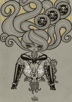 """""""Succubus: Skull"""" by Mizuno Junko"""