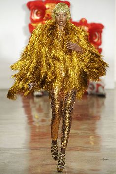 Gawd I love The Blonds, drag fashion at it's most glittery glorious
