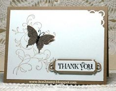 SU Stamps: Creative Elements, Curly Cute, Papillon Potpourri