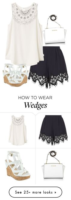 """""""Senza titolo #108"""" by robymancosu on Polyvore featuring Chloé, RVCA, GUESS and Michael Kors"""