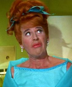One of today's birthday celebrants, Paul Lynde in one of his many 'incarnations' of 'Uncle Arthur' on TVs Bewitched.