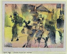Paul Klee, Strassenskizze aus Kairuan -1914 on ArtStack #paul-klee #art