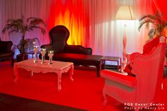 Lounge design for C3's corporate event @ Palais Royale, December 2012.