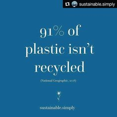 If it's not being recycled might as well refill it.  . #Repost @sustainable.simply (@get_repost)  Why is plastic bad? Even if its biodegradable or I recycle? Having conversations with one of my dearest friends yesterday and realising there is lots of confusion around the topic! Thought I would provide some quick facts today for a brief summary.  1. Plastic is made from fossil fuels a non-renewable resource.  2. Plastic is not durable  plastic breaks down into smaller pieces which are a mess…