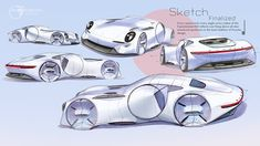 Porsche on Behance Automotive Design, Auto Design, Car Sketch, Car Drawings, Transportation Design, Concept Cars, Adobe Photoshop, Industrial Design, Porsche