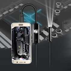 3.5m Mini Android Endoscope with Waterproof IP67 and Inspection Snake Tube Camera