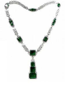 Royal Jewelry: Nawanagar Emerald Necklace