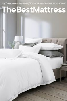 Sumptuous bedding sets for a cosy feel. Create a beautiful bedroom with single, double and king bed sets. Grey Furniture, Furniture Design, Restoration Hardware Bedding, Window Bed, Window Seats, King Size Bedding Sets, Best Mattress, Mattress Brands, Bed Sets