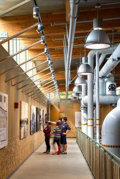 Hotchkiss Biomass Power Plant /Centerbrook Architects. Infrastructure need not…
