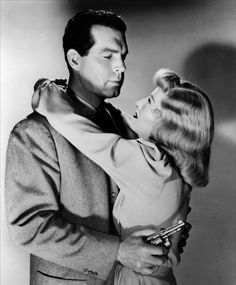 Fred MacMurray and Barbara Stanwyck in Double Indemnity (1944)