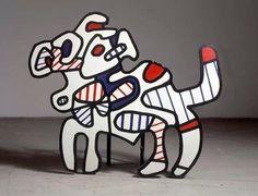 31/07/13 nasceva Jean #Dubuffet, teorico insieme a #Breton, #Paulhan e #Drouin di quell'arte che rifiuta la tradizione, Il la cultura stessa ritenendola soffocante. Dallo studio dei disegni dei bambini nasce l'arte senza intento estetico: L'Art Brut. #artbrut