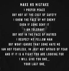 Make no mistake