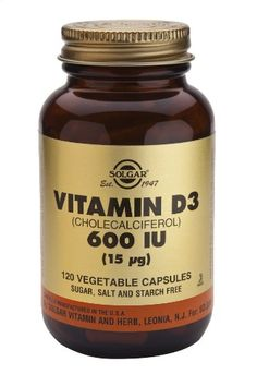 Solgar Vitamin D3 Cholecalciferol 600 IU Vegetable Capsules, 120 Count >>> Click on the image for additional details.  This link participates in Amazon Service LLC Associates Program, a program designed to let participant earn advertising fees by advertising and linking to Amazon.com.