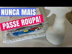 NUNCA MAIS PASSE ROUPA DEPOIS DESSA DICA! MISTURINHA CASEIRA ECONÔMICA - YouTube