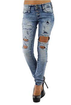 jeans trou forever boutique online mode accessoires mode ados pinterest jean trou. Black Bedroom Furniture Sets. Home Design Ideas