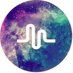 Galaxy Musical.ly Logo love it lisaandlena love musically