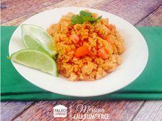 Paleo Mexican Cauliflower Rice