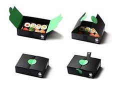 Resultado de imagen para sushi packaging