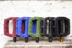 Eclat Slash Pedals In A Range Of Rad Colours - Check Out The Available Bmx Pedals Here At Anchor Bmx Including The Eclat Slash Pedals. Bmx Pedals, Bmx Shop, Bike Parts, Bmx Bikes, Bicycle Parts
