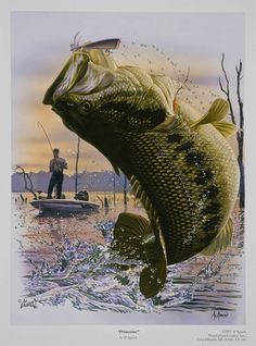 Fishing was his life.  Especially fishing for those lunker Big Mouth Bass.