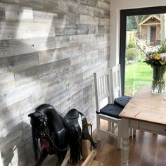 Reclaimed Solid Wood Wall Paneling – Home Renovation