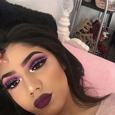 Image about style in makeup by silvia romera on We Heart It Makeup On Fleek, Kiss Makeup, Prom Makeup, Flawless Makeup, Cute Makeup, Gorgeous Makeup, Pretty Makeup, Makeup Looks, Hair Makeup
