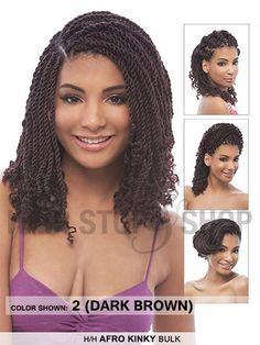 Janet Collection Human Hair Afro Kinky Bulk