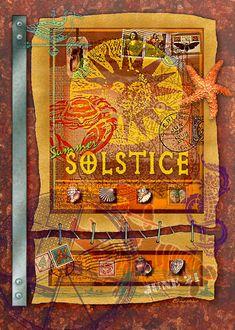 June 21~Summer Solstice Digital Art by Ernestine Grindal