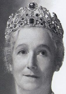 Tiara Mania: Duchess of Angoulême's Sapphire Tiara worn by the Marchioness of Cholmondeley