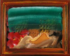 Howard Hodgkin - Waking Up In Naples Ceramic Coaster Abstract Expressionism, Abstract Art, Howard Hodgkin, Pompeii And Herculaneum, Ceramic Coasters, Sculpture, Great Artists, New Art, Printmaking