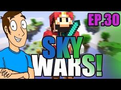 Minecraft SkyWars: HE WALKED STRAIGHT OFF!- Part 30 - YouTube