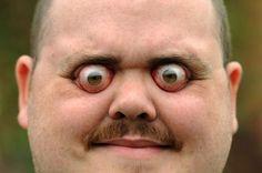 7d13c3a02476ee240c694bcdf2c7422d--protruding-eyes-guinness-book - Eyeballs galore - Eyeball