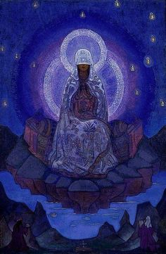 Mother of the World - by Nicholas Roerich