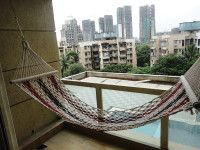 Get wide range of hammock rope swings, rope swing sitting available at Minesh Engineering Corporation. Rope Swing, Hammock Swing, Indian Home Decor, Swings, Outdoor Furniture, Outdoor Decor, Mumbai, Different Colors, Relax